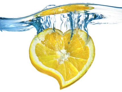 afvallen water met citroensap