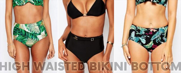 High five to high waist bikini broekjes!