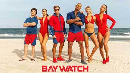 rode zwembroek baywatch