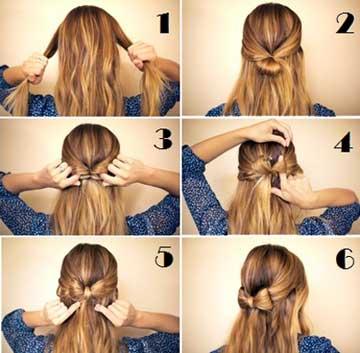 Ongekend Strik maken van je eigen haar! BN-66