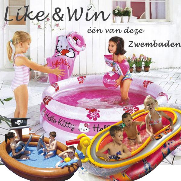 Een Zwembad In De Tuin Wie Wil Dat Nou Niet: Like & Win Een Van Deze Zwembaden