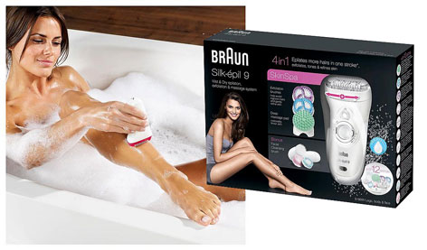 Review: Braun Silk-épil 9 Wet & Dry 4 in 1 epilator
