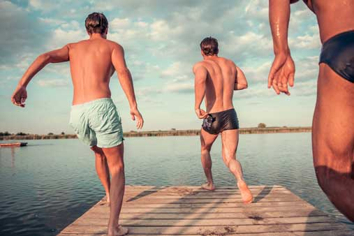 Zwembroek Maten Heren.Zwembroeken Voor Mannen Met Een Grote Maat